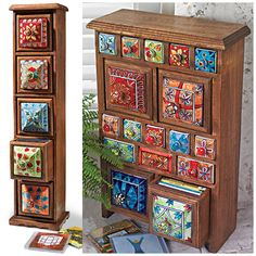 Ceramic CD/Storage Chest