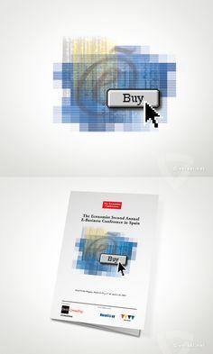 Economist Conferences -   Second Anual E-Business Conference in Spain  - www.versal.net • Diseño Gráfico • Identidad Visual Corporativa • Publicidad • Diseño Páginas Web • Ilustración • Graphic Design • Corporate Identity • Advertising • Web Pages • Illustration • Logo