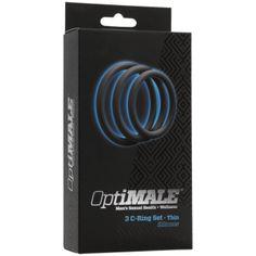 OPTIMALE - 3 C-Ring Set Thin - Slate