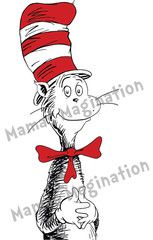 cat in the hat decal