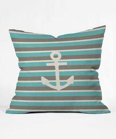 Another great find on #zulily! Anchor Throw Pillow #zulilyfinds