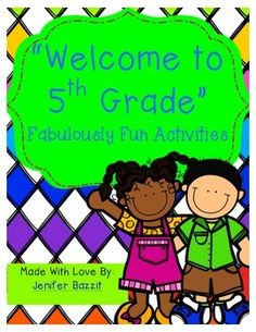 Are you looking for exciting activities to use while getting to know your new fifth graders? This packet contains individual, partner, small group, and whole-class activities. Help your students get to know you and their new classmates with the engaging activities in this packet.   I have used each of these activities with my fifth grade students over the years and they are always a hit!