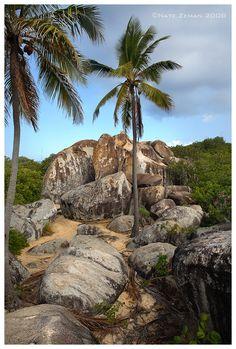 The Baths - Virgin Gorda, British Virgin Islands by Nate-Zeman Us Virgin Islands, British Virgin Islands, The Baths Virgin Gorda, Cheap Caribbean Islands, Pirate Island, British Overseas Territories, Fantasy Island, Island Beach, Beautiful Beaches