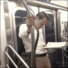 Anyone who has made a new friend on the subway in the most uncomfortable way possible: | 23 People Who Are Way More Awkward Than You