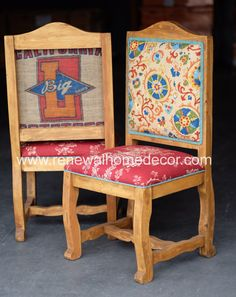 Custom Order  Upholstered dining chairs by ReNewalHomeDecor