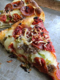 For as long as I can remember, our family has been trying to replicate Uno's Numero Uno pizza. The two things that make Uno's pizza different from other pizza (besides being deep-dish),… Pizza Lasagna, Flatbread Pizza, Pizza Pizza, Pizza 101, Pizza Calzones, Flatbread Recipes, Pizza Party, Italian Dishes, Italian Recipes