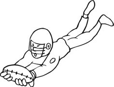 american football coloring pages printable