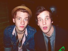 Kennedy from The Maine and Nick from ARTTM