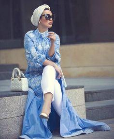 Hijab spring street fashion – Just Trendy Girls