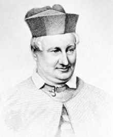 Frederick William Faber was a noted English hymn writer who converted from Anglicanism to the Catholic priesthood by 1847. His best-known work is Faith of Our Fathers. Though he was a Roman Catholic writing for fellow Catholics at that point, many of his hymns today are sung by Protestant congregations.