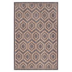 Teppich Bellagio - Grau/Beige - Maße: 121 x 182 cm, Safavieh