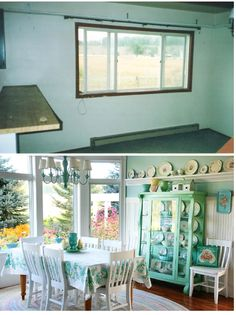 before and after Meadowbrook Farm