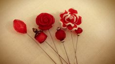 hand crafted head scarf pins