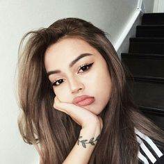 Who is not familiar with Arkan Manuella Fernan, a cool guy who knows . # Teen fiction # amreading # books # wattpad Who is not familiar with Arkan Manuella Fernan, a cool guy who knows . Lily Maymac, Beauty Makeup, Hair Beauty, Makeup Style, Beauty Full Girl, Instagram Girls, Disney Instagram, Girls Makeup, Tumblr Girls