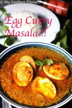 Egg Curry Masala !!