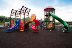 Mason Mill playground, Decatur, Georgia