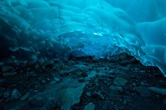 Mendenhall Glacier Caves, Alaska | 29 Surreal Places In America You Need To Visit Before You Die