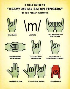 Satan fingers