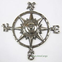 "Nautical Wall Decor black navy ship's flat metal anchor 14"" nautical wall decor usa"