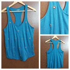 Last few pieces remaining: Racer Back Top- S..., visit http://ftfy.bargains/products/racer-back-top-studded-on-ink-blue?utm_campaign=social_autopilot&utm_source=pin&utm_medium=pin  #amazing #affordable #fashion #stylish