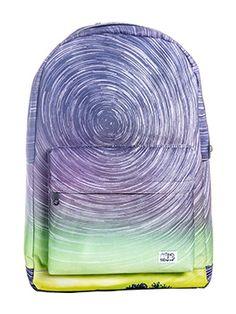 An awesomely designed Spiral Star Shower Backpack