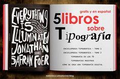 5 Libros sobre Tipografía para Descargar Gratis y en Español by Saltaalavista Blog
