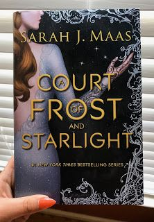 A Court Of Frost And Starlight By Sarah J Maas Good Books Ya