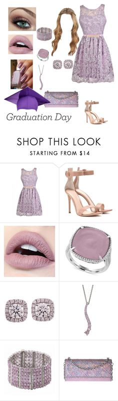 """""""Graduation Day"""" by shiraxox ❤ liked on Polyvore featuring Gianvito Rossi, Effy Jewelry and Kenzo"""