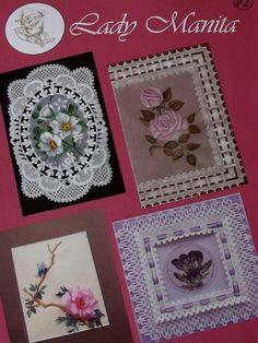 LADY MANITA PATTERN PACK 2      Four beautiful patterns from Lady Manita…