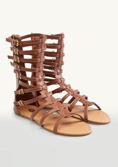 Buckled Gladiator Sandals | Sandals & Flip Flops | rue21