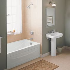 Main Bathroom Ideas On Pinterest Bathroom Vanities Tubs And Small Bathrooms