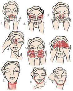 Aidez votre visage en le massant tous les jours  il vous le rendra #lymphmassage #lymph #massage #tips