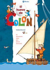 """Un emocionante relato basado en el diario de navegación que Cristóbal Colón escribió durante su viaje. Busca los objetos que no deberían aparecer en los dibujos ¡porque no existían en aquella época! Y más difícil todavía: encuentra """"el huevo de Colón"""" oculto en cada dibujo."""