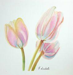 Ehi, ho trovato questa fantastica inserzione di Etsy su https://www.etsy.com/it/listing/483224874/tulipani-rosaacquerellodipinto