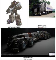 #Transformers #Decepticons #MotorMaster  Original Form: #Kenworth K100 Semi-Truck Upgraded Form: Cold Leviathan
