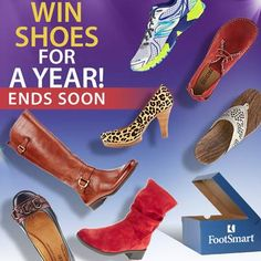 The Great Comfort Giveaway ends TODAY!! Nominate a friend who deserves comfortable shoes and you both could win free shoes for a year! Enter Now!