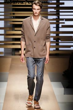 SALVATORE FERRAGAMO FW15 Mens Fashion Week