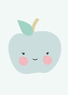Der Apfel fällt nicht weit vom Stamm - Poster von Eef Lillemor  #papermint.ch