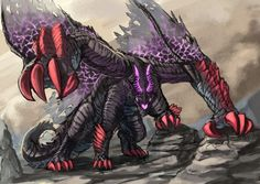 Gore Magala Monster Hunter Memes, Monster Hunter World, Creature Concept Art, Creature Design, Fantasy Creatures, Mythical Creatures, Cool Monsters, Dragon Pictures, Alien Art