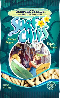 Surf Chips - Seaweed Straws Image