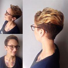Short Layered Haircuts Thick Hair