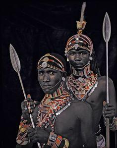 Nyerere & Lewangu, Kaisut Desert, Kenya, 2010 - by Jimmy Nelson