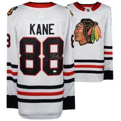 8b6e90488 Patrick Kane Chicago Blackhawks Fanatics Authentic Autographed White Fanatics  Breakaway Jersey. Nhl Chicago ...