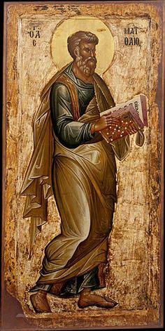 Evangelist St. Matthew, end of 13th c