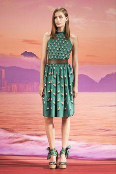 Gucci Resort 2014 Fashion Show - Nadja Bender