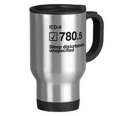 780.5, Sleep disturbances, unspecified Coffee Mug