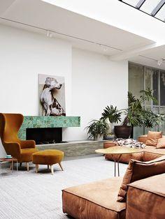 Extrasoft Living Divani designed by Piero Lissoni Home Interior, Interior Styling, Interior Architecture, Interior Decorating, Scandinavian Interior, Modern Interior, Natural Interior, French Interior, Interior Walls