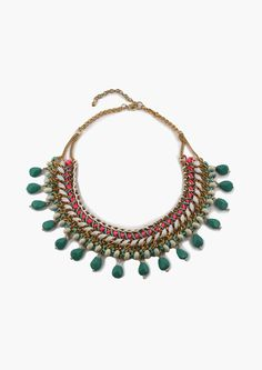 Wandering Sea Statement Necklace