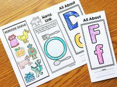 Alphabet Brochures a