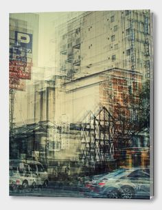 German photographer Stephanie Jung did a series of photos in multiple exposure of different cities in Japan. A few photos of the same place but in different tim Experimental Photography, Urban Photography, Abstract Photography, Artistic Photography, Street Photography, Landscape Photography, Photography Ideas, Motion Photography, Creative Landscape